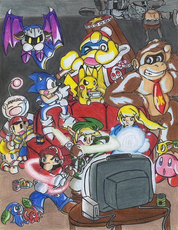 Smash Bros Party
