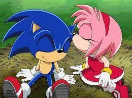 Sonic and Amy in SonicX