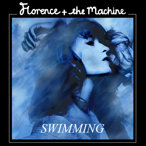 Florence + The Machine karatasi la kupamba ukuta probably containing a sign and anime entitled Swimming (fan made cover)