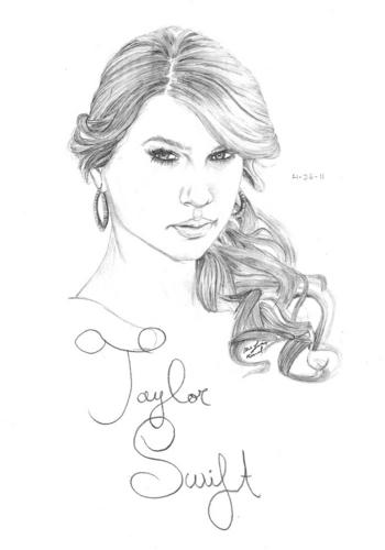 Taylor nhanh, swift Drawing
