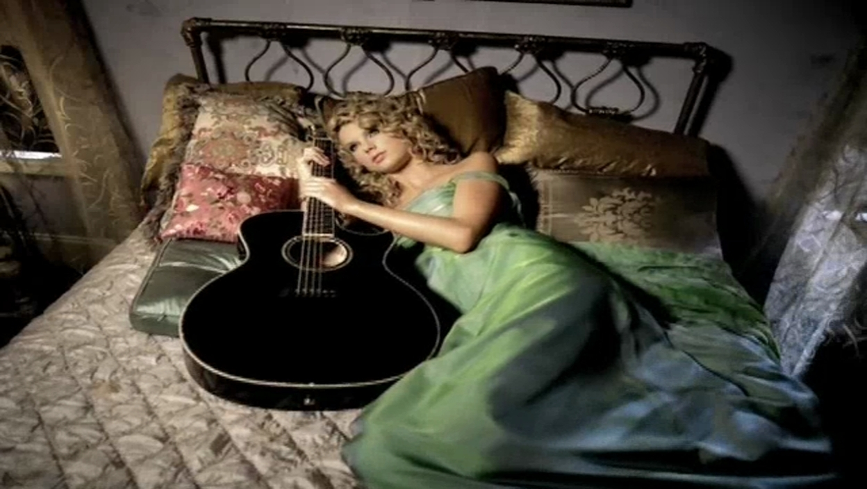 Taylor swift chords teardrops on my guitar