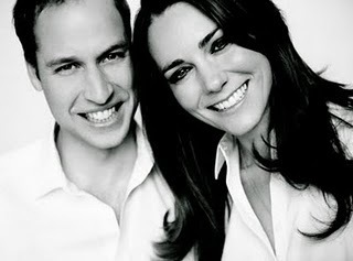Prince William and Kate Middleton wallpaper containing a portrait entitled The Prince and his Bride