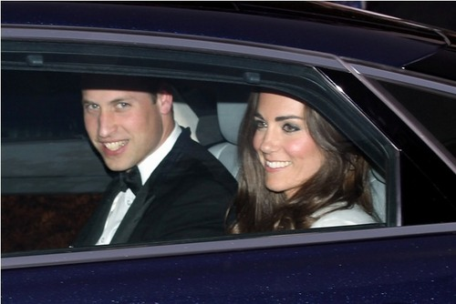 Prince William and Kate Middleton wallpaper possibly containing an automobile called The Royal Wedding : William and Kate