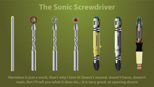The Sonic screwdriver