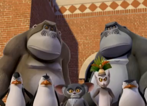 Penguins of Madagascar پیپر وال entitled They are angry