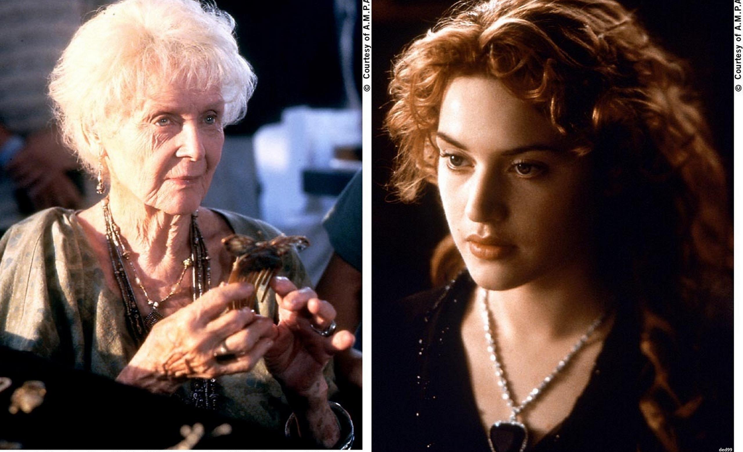 Resultado de imagen para old and young rose titanic movie