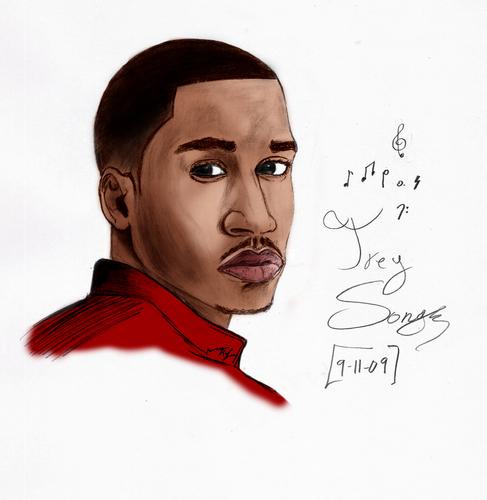 Trey Songs Digital Illustration