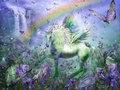 Unicorn of the Butterflies - yorkshire_rose wallpaper