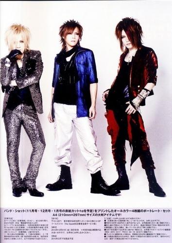 Uruha, Kai and Ruki