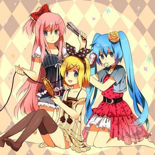 Vocaloid girls 个人资料 pic