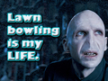 Voldemort Loves Lawn Bowling!