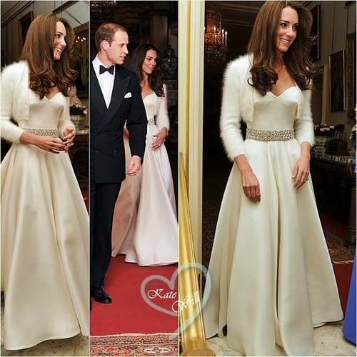 Prince William and Kate Middleton wallpaper with a gown and a bridesmaid entitled William & Kate