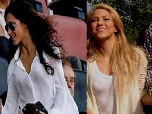 Xisca vs Shakira breast