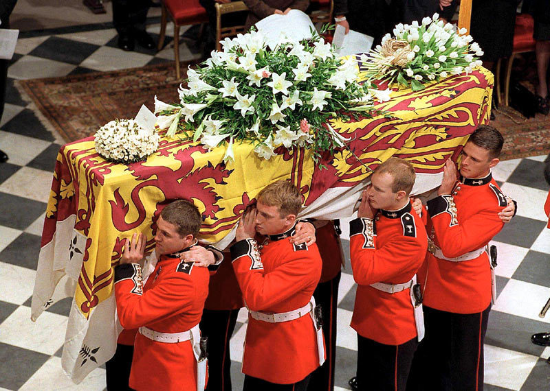 princes dianas funeral pictures to pin on pinterest