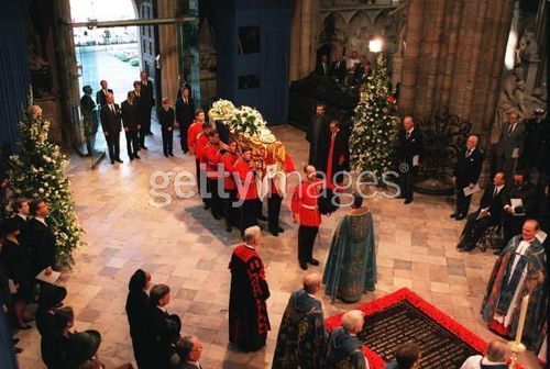 diana funeral: westminster abbey