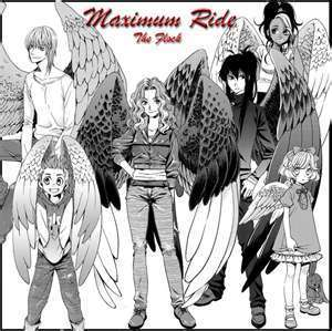 Maximum Ride Hintergrund titled fang and others