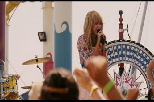 hannah montana the movie's shoot
