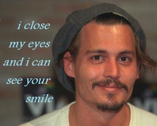 i close my eye i can see আপনি smile