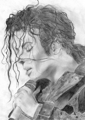 michael beautyful drawing