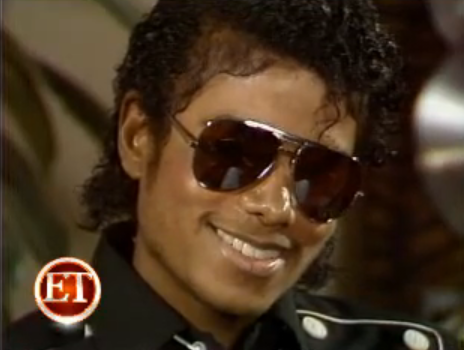 michael with a sunglasses