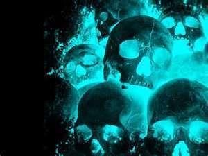 skulls images neon skulls wallpaper and background photos 21519576