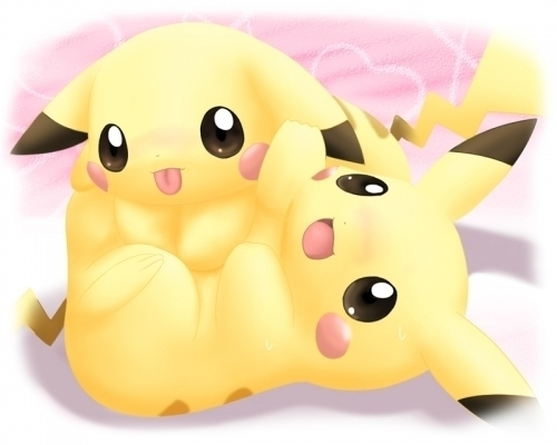 Pikachu and picka