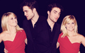 robert-pattinson - reese & rob wall wallpaper