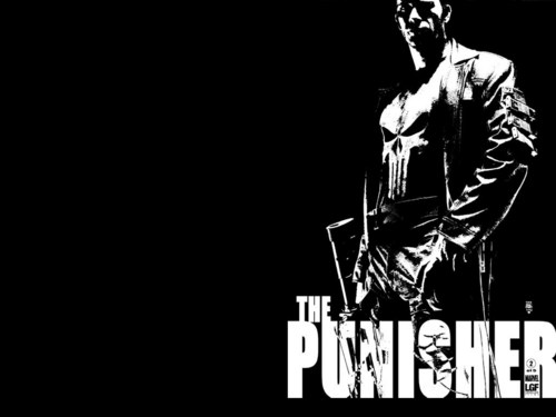 the Punisher پیپر وال