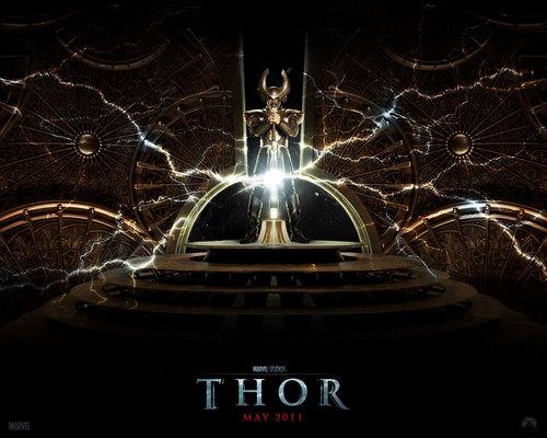 Thor fond d'écran titled thor