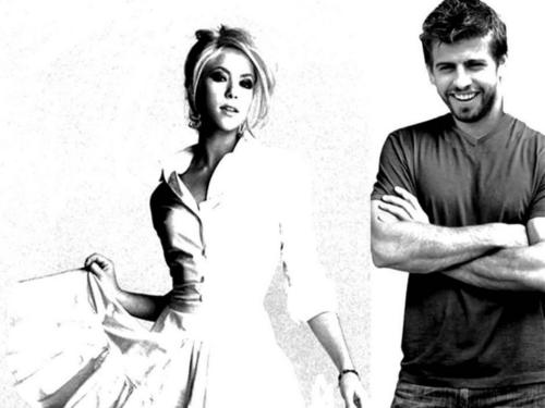 wedding look - shakira-and-gerard-pique Wallpaper