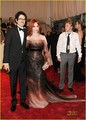 """Alexander McQueen: Savage Beauty"" Costume Institute Gala At The Metropolitan Museum Of Art - christina-hendricks photo"