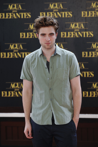 """Water For Elephants"" Barcelona Press Conference [HQ]"