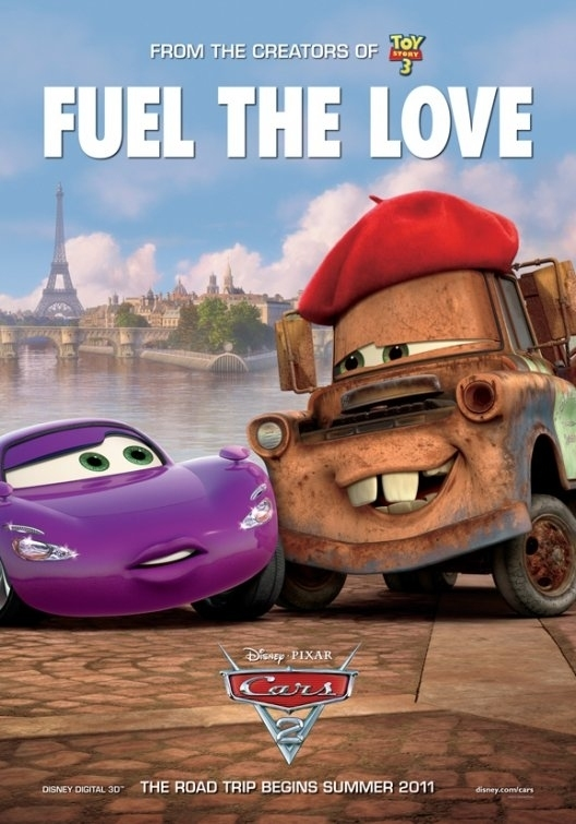 cars 2 pixar. Disney Pixar Cars 2 528x755