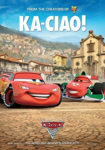 Disney Pixar Cars 2 wallpaper entitled :)