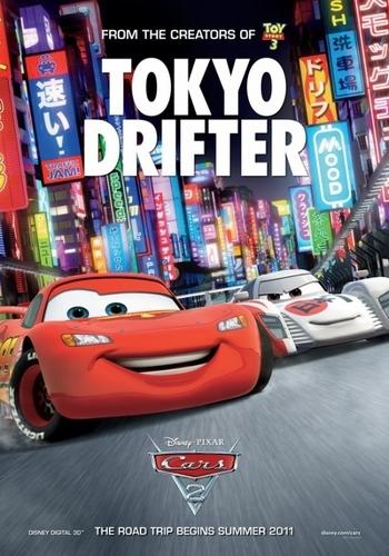 Cars 2 (Disney-Pixar) fond d'écran entitled :)