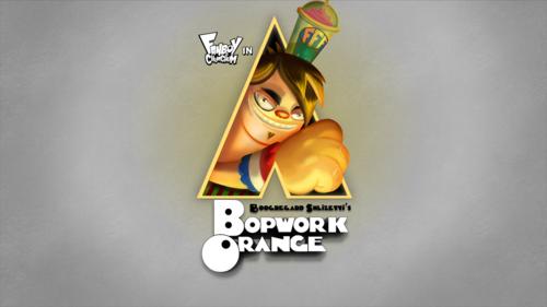 A Bopwork مالٹا, نارنگی