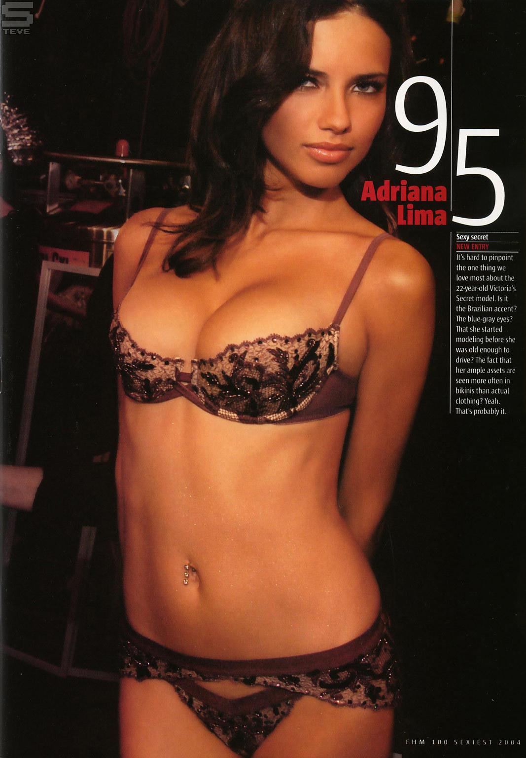 Adriana Lima Adriana [FHM Top 100] 2004
