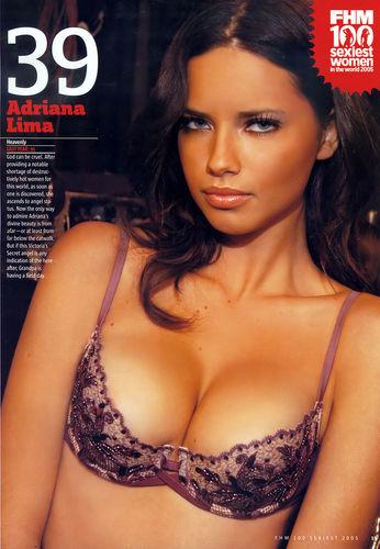 Adriana [FHM শীর্ষ 100] 2005