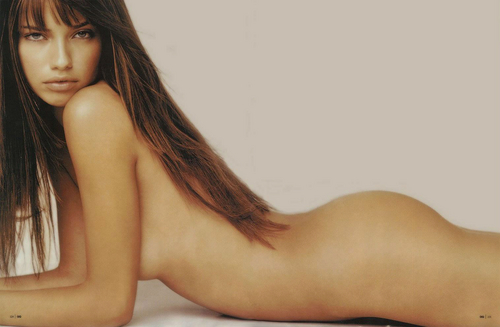 Adriana Lima wallpaper with skin called Adriana [GQ] 2002
