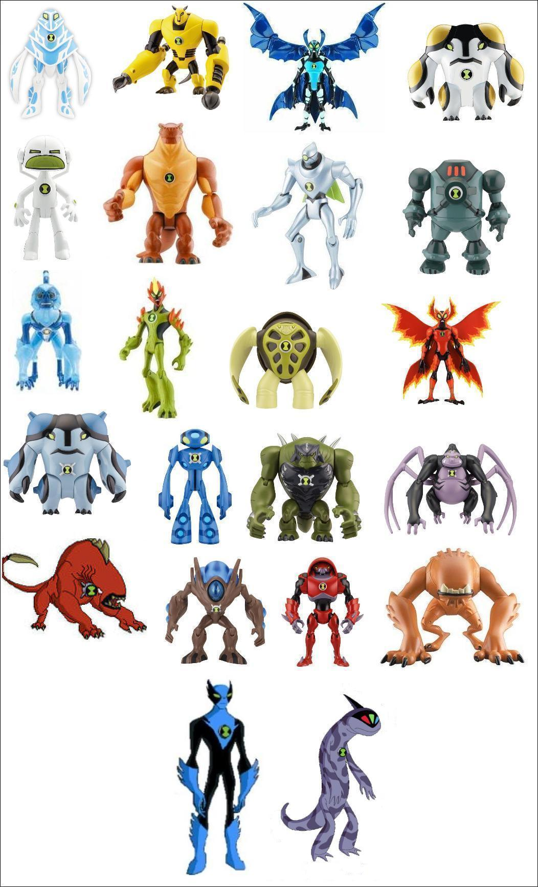 All Of The Aliens Ben 10 Ultimate Alien 21603923 1052 1735