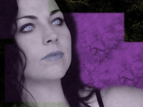 Amy Lee WP I made - evanescence Wallpaper