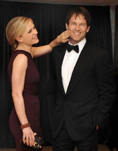 Anna Paquin, Stephen Moyer and Ryan Kwanten - the 2011 White House Correspondents Association cena