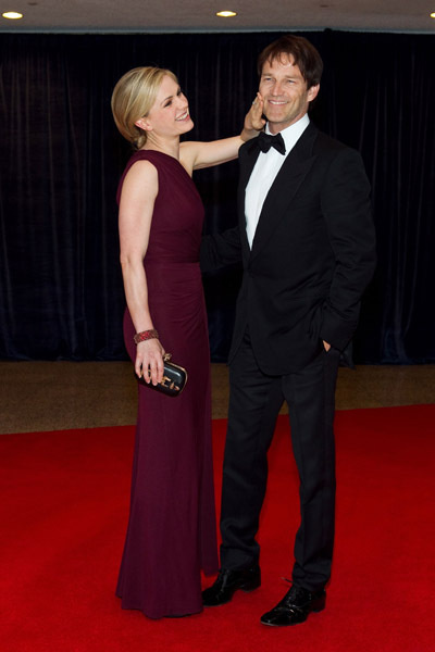 Anna Paquin, Stephen Moyer and Ryan Kwanten - the 2011 White House Correspondents Association Dinner