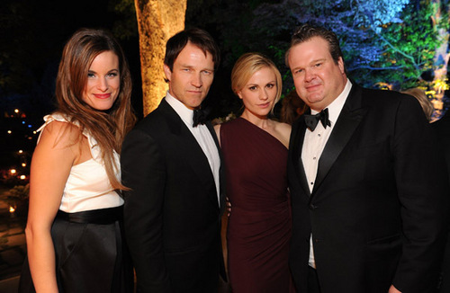 Anna Paquin, Stephen Moyer and Ryan Kwanten - the 2011 White House Correspondents Association رات کے کھانے, شام کا کھانا