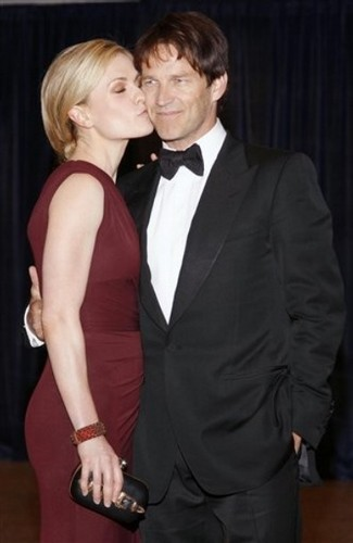 Anna Paquin, Stephen Moyer and Ryan Kwanten - the 2011 White House Correspondents Association chajio, chakula cha jioni