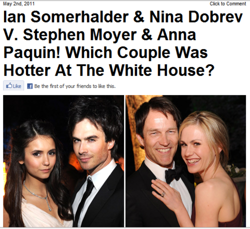 Awww... Hollywoodlife is also calling them a couple now <3