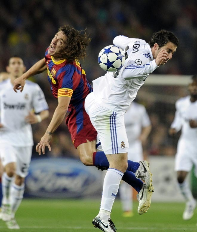 barcelona fc vs real madrid. Barcelona vs Real Madrid 1-1