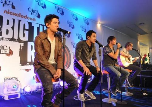 Big time rush concert in Londres