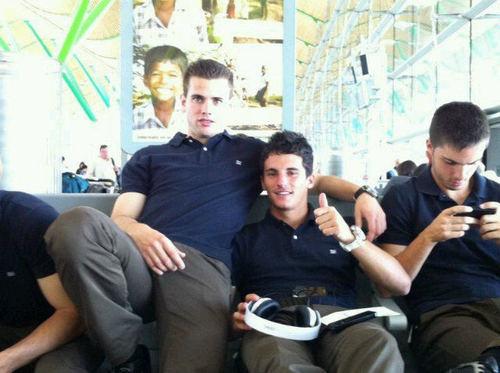 Castilla players together