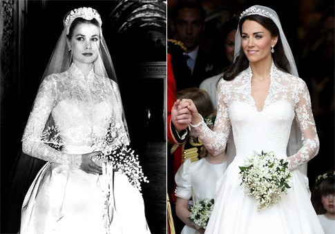 Catherine 39 s wedding gown is inspired kate middleton for Princess catherine wedding dress